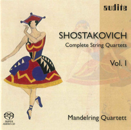 Schostakowitsch CD - Complete String Quartet Vol. 1